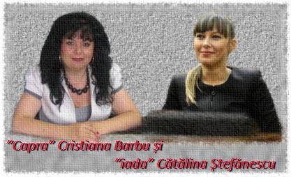 Cristiana Barbu și Cătălina Ștefănescu