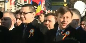 Ponta și  Antonescu, huiduiți la Iași
