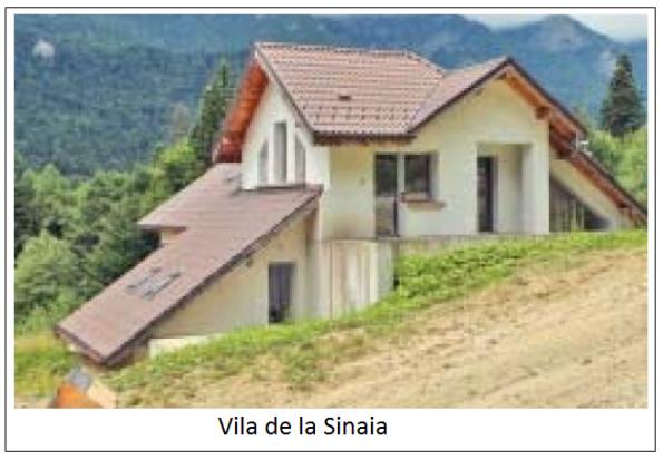Vila din Sinaia a familiei  Roman