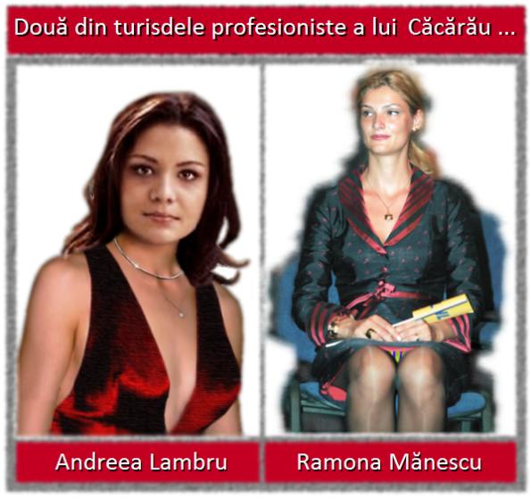 Andreea Lambru, Ramona Mănescu
