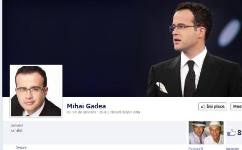 Deşi este pagina emisiunii Sinteza Yilei, conform adresei, nu vedem numele emisiunii ci a lui Gădea