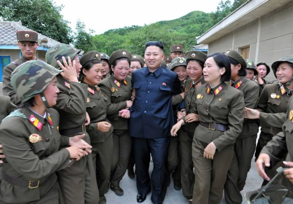 Pe Kim Jong-un, îl iubeşte femeili