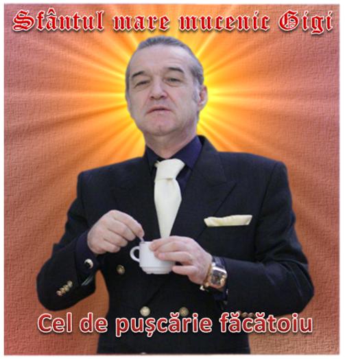 Sfântul Gigi Becali