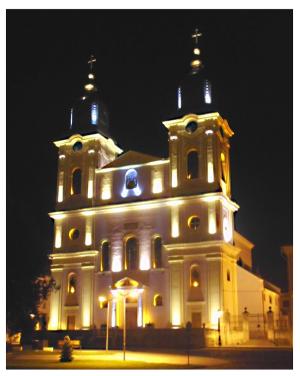 Blaj - Catedrala Mitropolitană Greco-Catolică  ''Sfânta Treime''