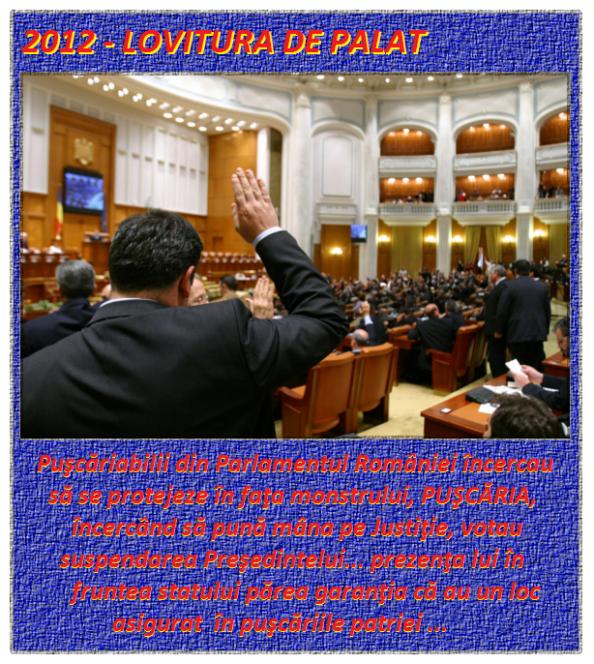 2012  -  Lovitura de palat