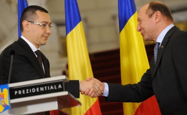Traian Băsescu , Victor Ponta