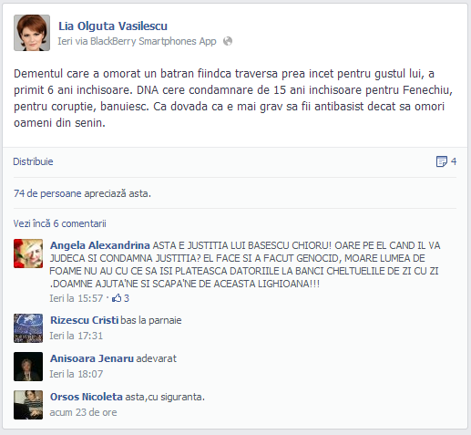 Lia Olguţa Vasilescu