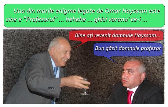Dan Voiculescu, Omar Hayssam