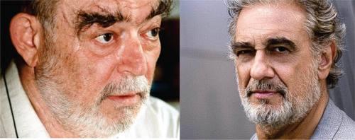 Doi mari artiști: PLACIDO DOMINGO și MIRCEA ALBULESCU au fost magistrali în același rol: OTHELLO.