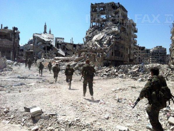 Statele Unite pregătesc o posibilă intervenţie în Siria. Forţe militare, mobilizate în Mediterană (Imagine: Mediafax Foto/AFP)