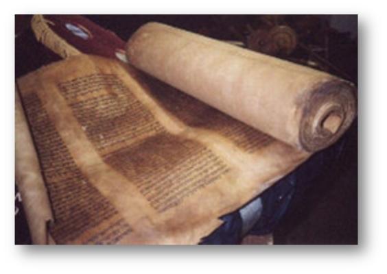 Cel mai vechi papirus intreg din Europa