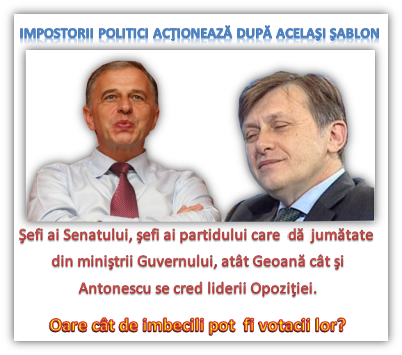 Geoană, Antonescu