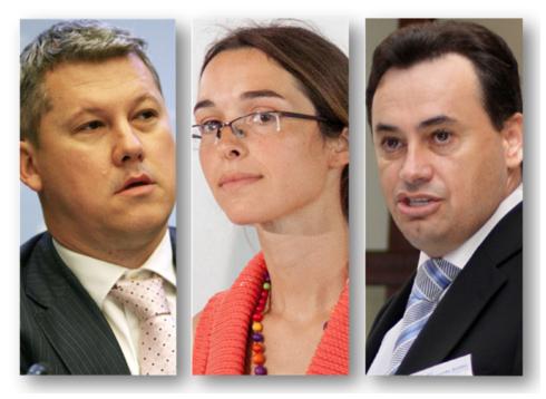 Cătălin Predoiu, Simona Crețu, Gheorghe Falcă