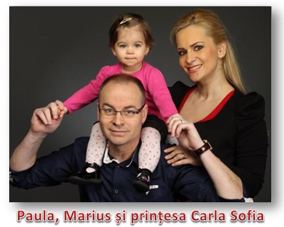 Paula, Marius și Carla Sofia