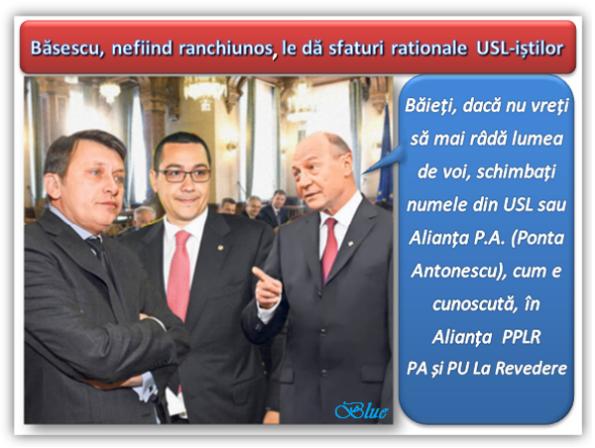 Ponta, Antonescu, Băsescu