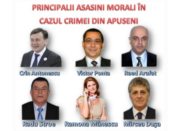 Asasinii - Antonescu, Ponta, Arafat, Stroe, Mănescu, Dușa