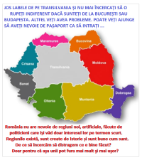 Regiunile istorice aleRomniei