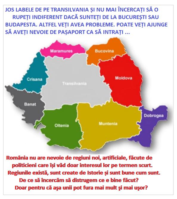 Regiunile istorice ale Romniei