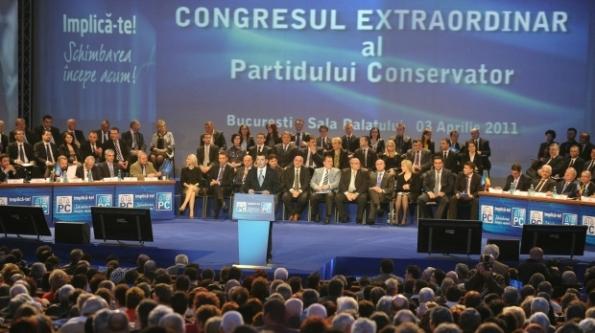 Congresul extraordinar al PC a fost o ocazie ca PSD să înjure PNL şi Ponta să îşi lanseze candidatura