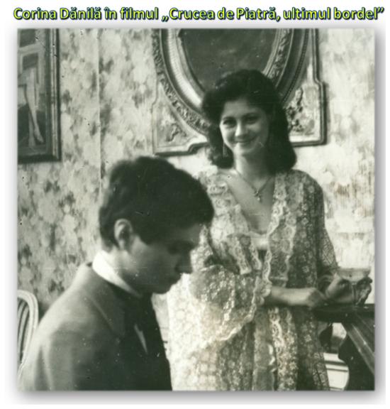 Corina Dănilă în filmul Crucea de piatră, ultimul bordel
