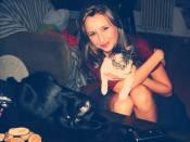 Cu pisicuţa Ria la vedere