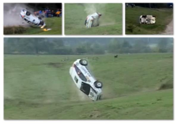 Accident, Ponta