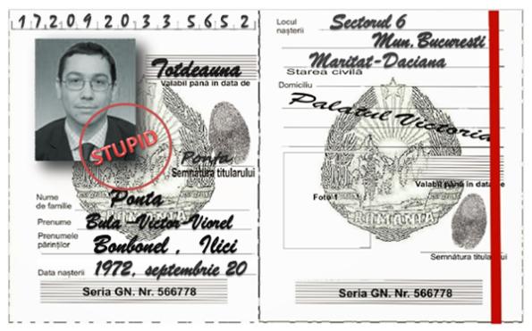 Victor Ponta , buletin