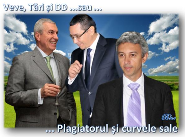 Tăriceanu, Ponta, Diaconescu