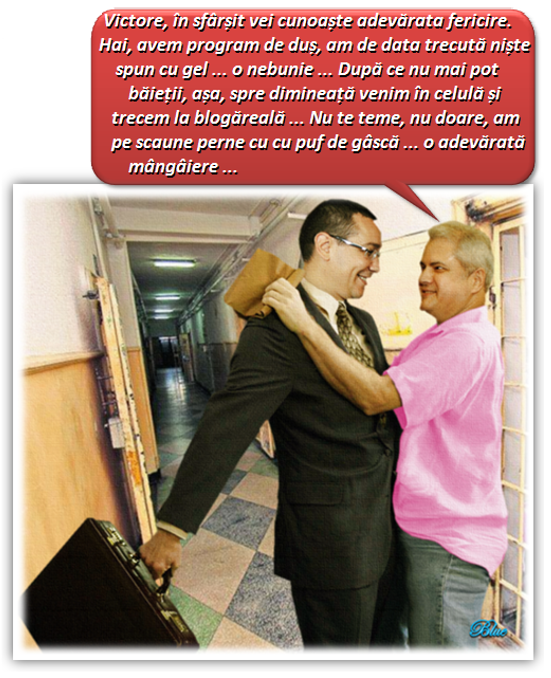 AMINTIRI DIN VIITOR: Ponta şi Năstase, colegi de celulă