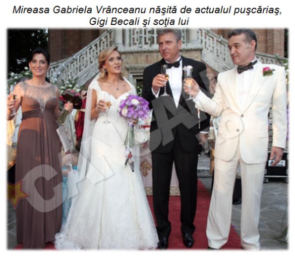 Gabriela Firea - nunta