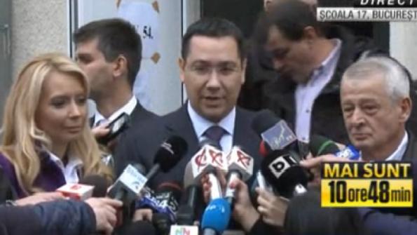 Ponta a ţinut neapărat să ne arate că rămâne aşa cu a fost: un idiot tot mai penibil