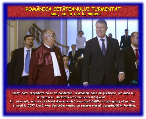 Curtea Constituţională, Klaus Iohannis