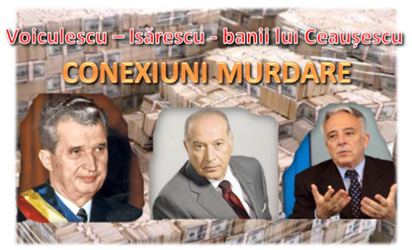 Nicolae Ceaușescu, Dan Voiculescu, Mugur Isărescu