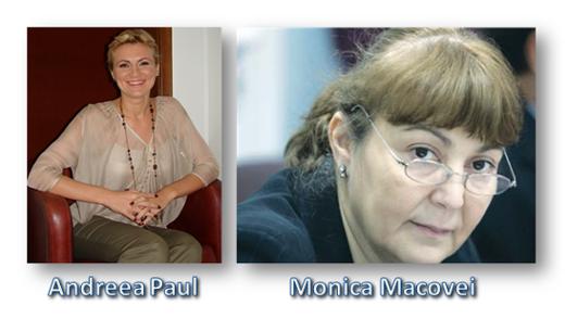 Andreea Paul, Monica Macovei