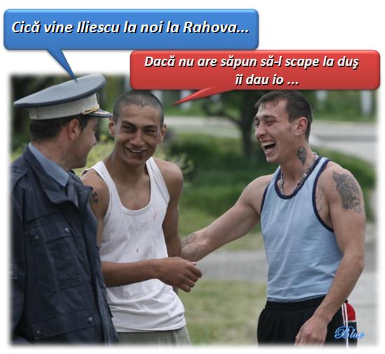 Vine Iliescu la Rahova