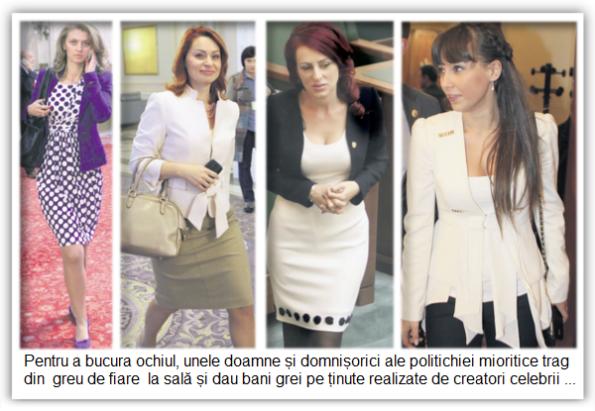 Alina Gorghiu, Cristina Ancuța Pocora, Vasilica Steliana Miron, Cătălina Ștefănescu