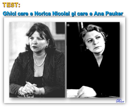 Norica Nicolai, Ana Pauker
