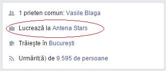 Raluca Macovei este angajata Antenei Stars ...