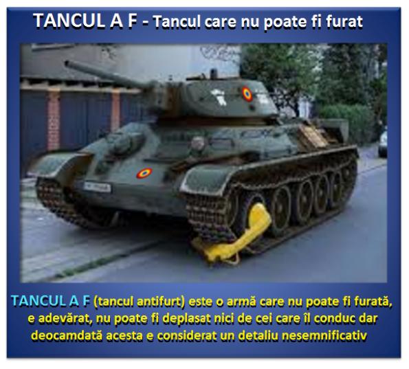 ARMATA ROMÂNĂ, dotări 7