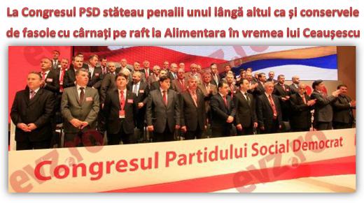 Dacă ar fi  căzut o bombă în momentul în care s-a făcut poza, România ar fi devenit o ţară mult mai curată, iar PSD-ului i s-ar fi făcut un bine incomensurabil ...