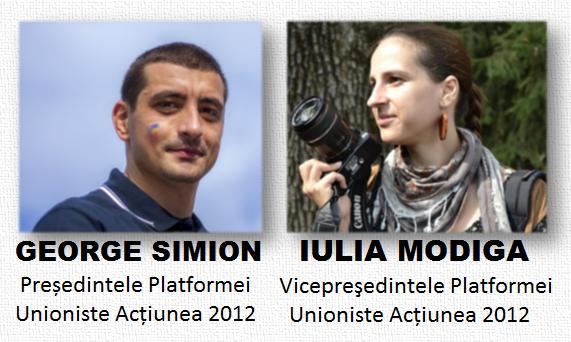 George Simion, Iulia Modiga
