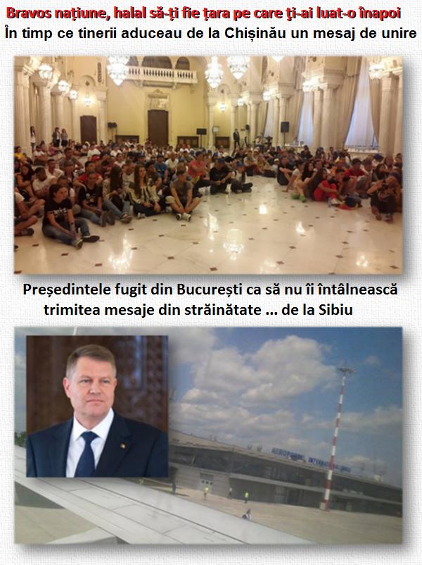Tinerii, unire, Iohannis