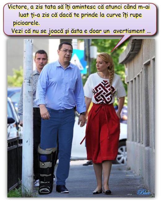 Victor Ponta, Daciana Ponta