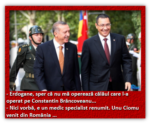 Victor Ponta, Recep Tayyip Erdogan