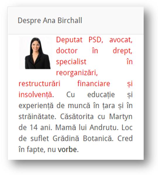 Ana Birchall