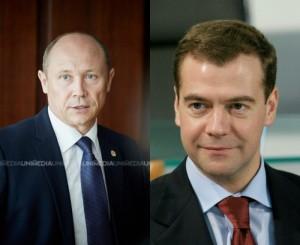 Valriu Starleţ - Dmitri Medvedev