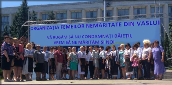Organizaţia femeilor nemăritate din Vaslui