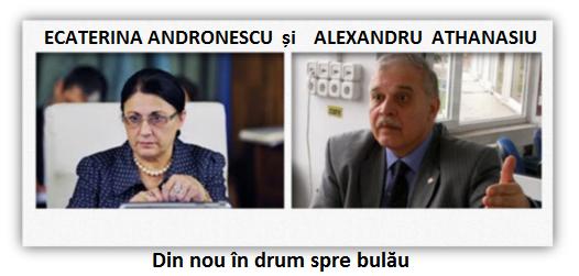 Ecaterina Andronescu, Alexandru Athanasiu