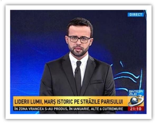 Foto 4 – Mihai Gădeea cu barbă. După cum se vede încă are buzele tumefiate