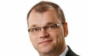 Premierul finlandez Juha Sipila